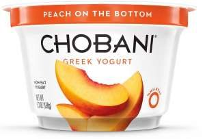 Chobani low-fat yougurt